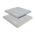 AGLOMERADO (38mm) + PVC CONDUCTIVO + ALUMINIO